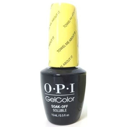 OPI Towel Me About It Gel Nail Polish GCR67