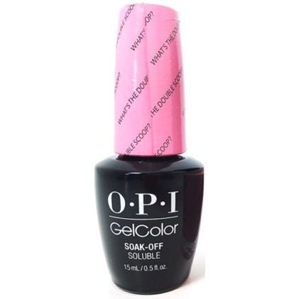 OPI What's the Double Scoop? Gel Nail Polish GCR71