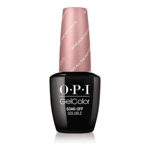 OPI Reykjavik Has All the Hot Spots Gel Nail Polish GCI63