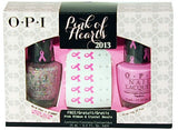 OPI Pink of Hearts Duo Pack 2013 SRE97