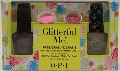 OPI Glitterful Me! Nail Treatment Set SRF11