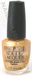 OPI Gala Gold Nail Polish SRL09 (Discontinued by OPI)