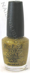 OPI Gold Lang Syne Nail Polish SRL11 (Discontinued by OPI)