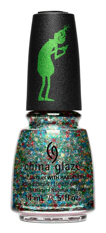 China Glaze - Resting Grinch Face Nail Polish 84327