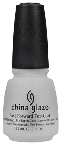 China Glaze Treatment Gotta Go Top Coat Nail Polish 84344