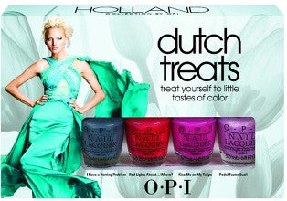OPI Dutch Treats Mini Nail Polish Set DCH28