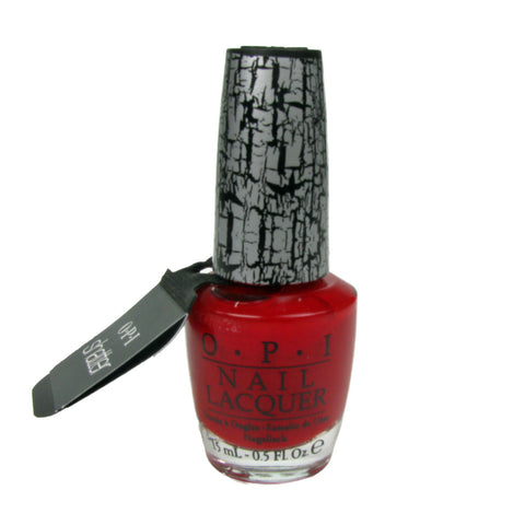 OPI Red Shatter Nail Polish E55