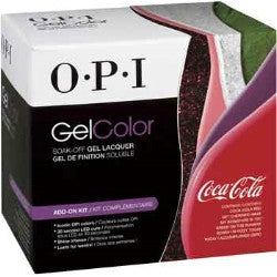 OPI Coca Cola Gel Nail Polish Kit GC956