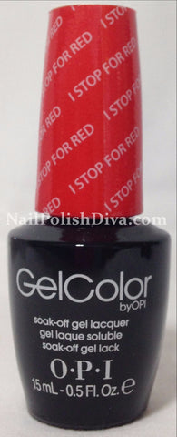 OPI I Stop For Red Gel Nail Polish GCA74