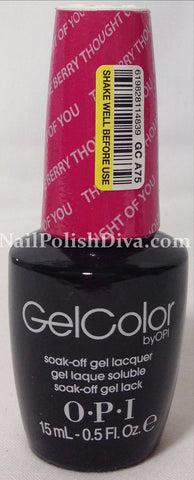 OPI The Berry Thought Of You Gel Nail Polish GCA75