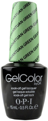 OPI Gargantuan Green Grape Gel Nail Polish GCB44