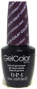 OPI Get Cherried Away Gel Nail Polish GCC15