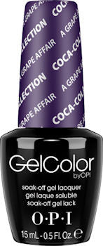 OPI A Grape Affair Gel Nail Polish GCC19