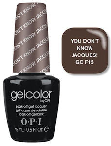 OPI You Don't Know Jacques Gel Nail Polish GCF15