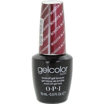 OPI Bogota Blackberry Gel Nail Polish GCF52