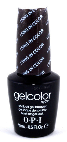 OPI I Sing In Color Gel Nail Polish GCG27