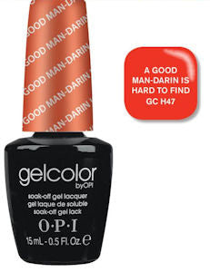 OPI A Good Man-darin is Hard to Find Gel Nail Polish GCH47