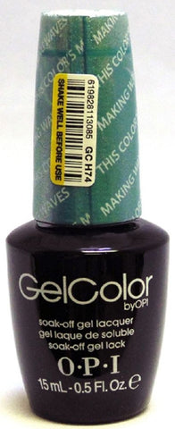 OPI This Color's Making Waves Gel Nail Polish GCH74