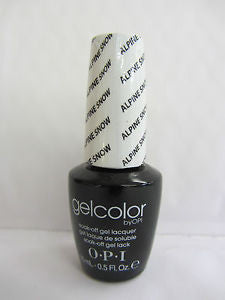 OPI Alpine Snow Gel Nail Polish GCL00