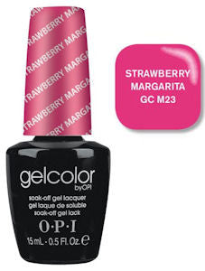 OPI Strawberry Margarita Gel Nail Polish GCM23