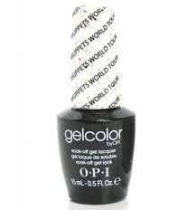 OPI Muppets World Tour Gel Nail Polish GCM75