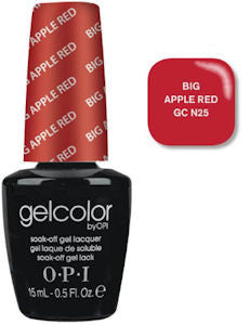 OPI Big Apple Red Gel Nail Polish GCN25