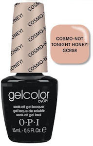 OPI Cosmo Not Tonight Honey Gel Nail Polish GCR58