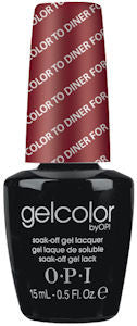 OPI Color to Diner For Gel Nail Polish GCT25