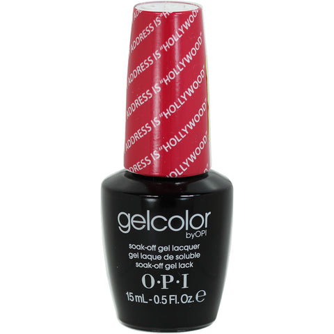 OPI My Address is Hollywood Gel Nail Polish GCT31
