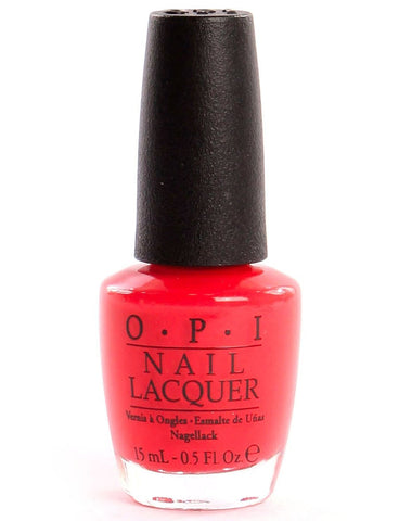 OPI Red Lights Ahead . . . Where? Nail Polish H61