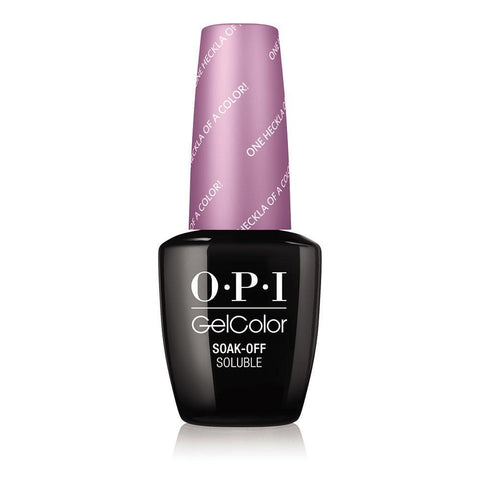 OPI One Heckla of a Color!  Gel Nail Polish GCI62