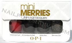 OPI Holiday Wishes Mini Merries Nail Polish HLA19 (Discontinued by OPI)