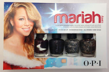 OPI Mariah Carey Holiday Mini Nail Polish HLE29