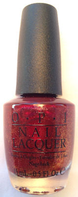 OPI Red Fingers & Mistletoes Nail Polish HRF10