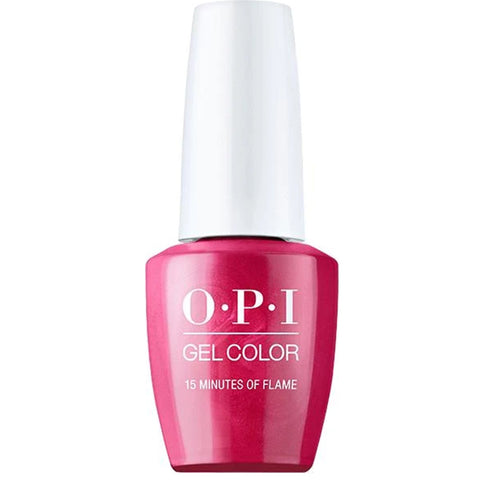 OPI 15 Minutes Of Flame Gel Nail Polish GCH011