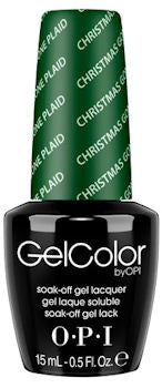 OPI Christmas Gone Plaid Gel Nail Polish HPF04