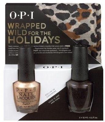OPI Wrapped Wild For The Holidays Duo Nail Polish HRF36