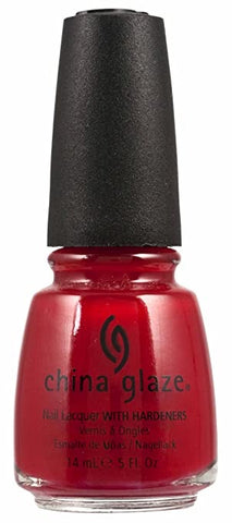 China Glaze Paint The Town Red Nail Polish 554