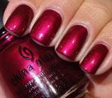 China Glaze Red-Y & Willing Nail Polish 1234