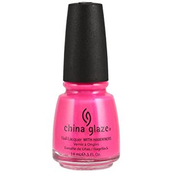 China Glaze Neon Pink Voltage Nail Polish 70291