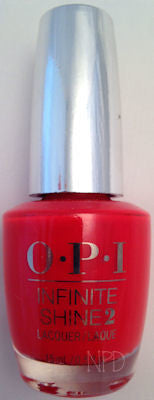 OPI Unrepentantly Red Nail Polish ISL08