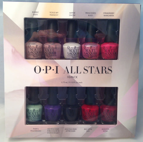 OPI All Stars Mini Nail Polish Set HRG12