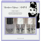 OPI Breakfast at Tiffany's Nail Top Coat Gift Set HRH30