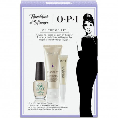 OPI Breakfast at Tiffany's Nail Treatment Kit Set HRH31
