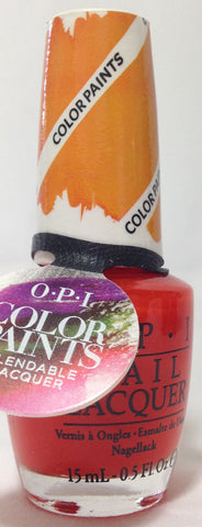 OPI Chromatic Orange Nail Polish P21