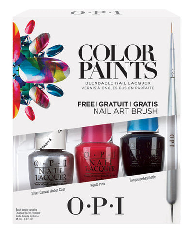 OPI Color Paints Trio Nail Polish Set DDP16