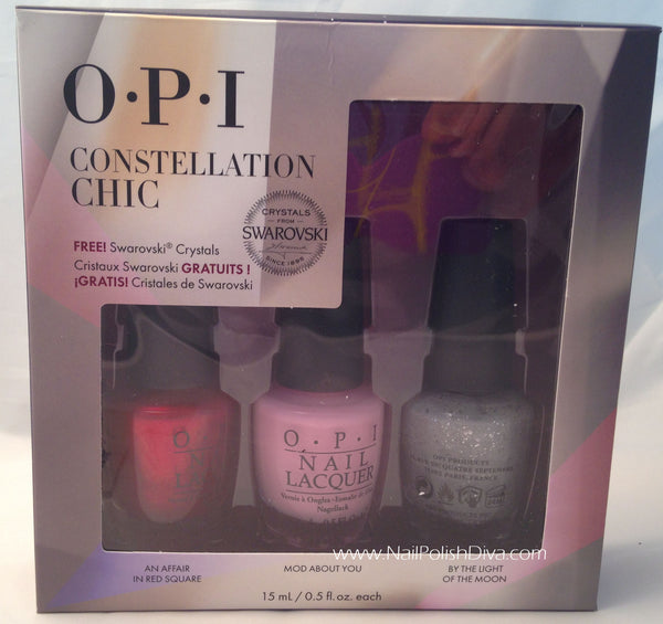 Opi Constellation Chic Nail Polish Set Hrg17 Nail Polish Diva