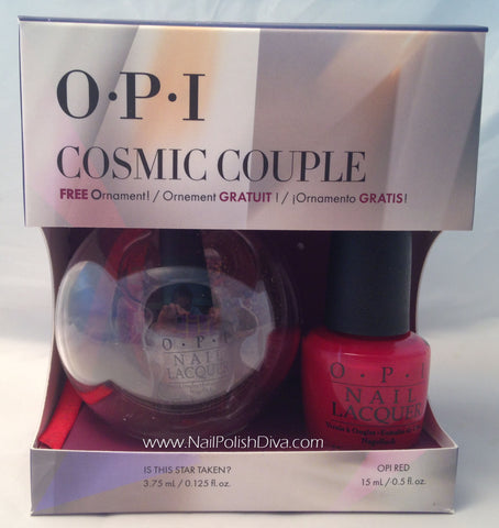 OPI Cosmic Couple Nail Polish Set HRG25