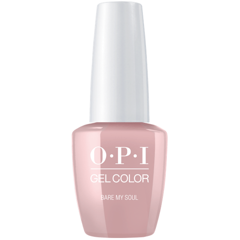 OPI Bare My Soul Gel Nail Polish GCSH4