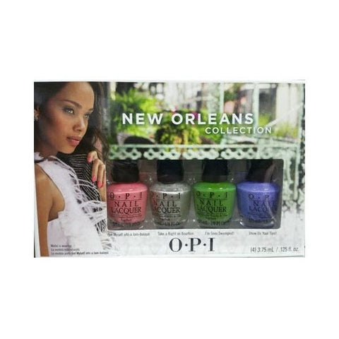 OPI Jambalayettes New Orleans Mini Nail Polish Set DCN23